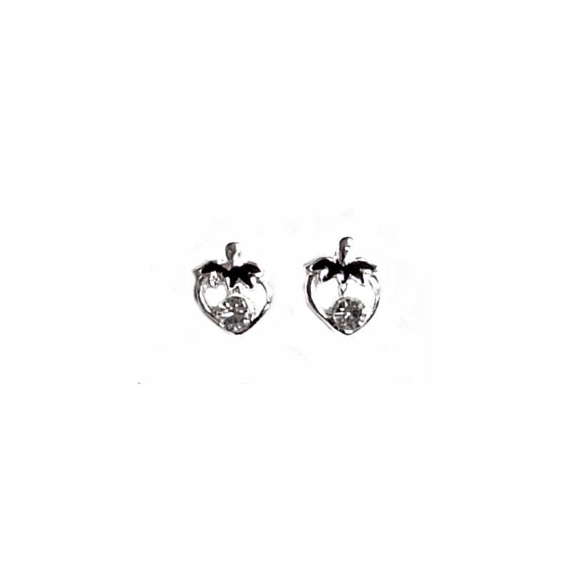 fashion suppliers alibaba and strawberry jewelry earrings stainless manufacturers com steel showroom stud at