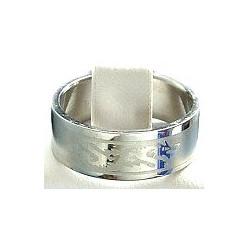 Dragon Stainless Steel Matt Band Ring