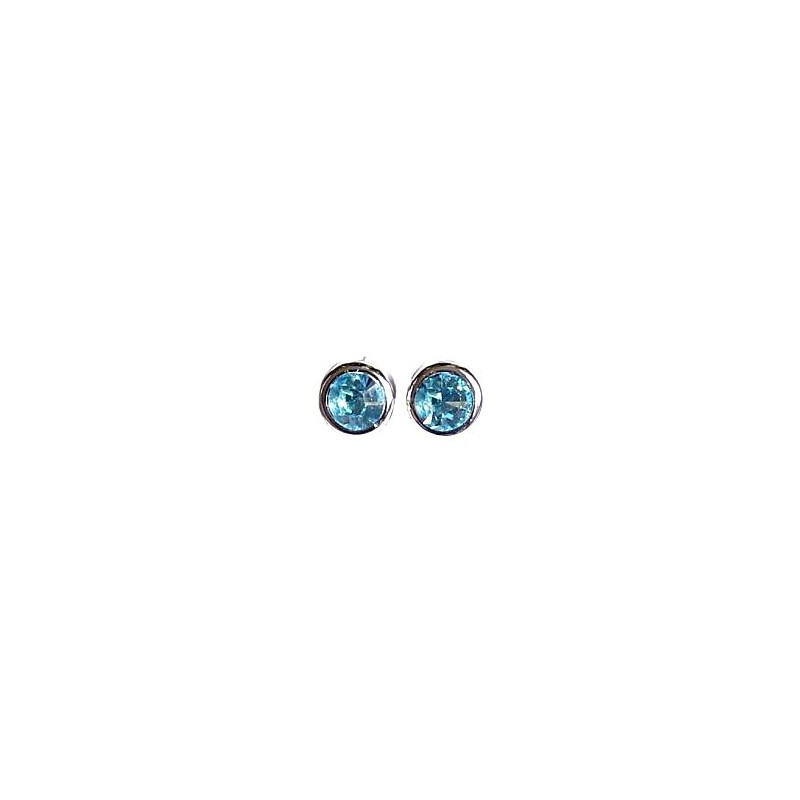 ingridscreations blue steel bargains surgical shop studs stud summer crystal hot on etsy light earrings