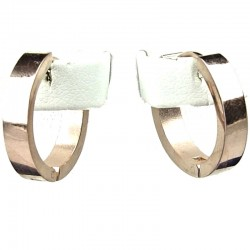 Rose Gold 2cm Huggie Hoop Earrings