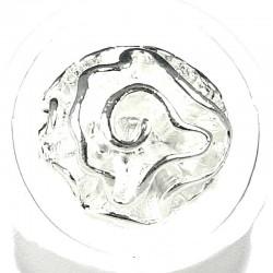 Feminine Costume Jewellery, Fashion Women Girls Birthday Gift, White Enamel Rose Flower Ring