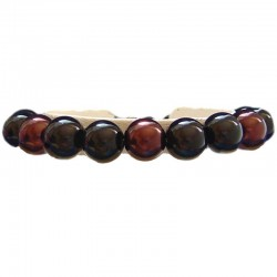 Fake Pearls Simulated Imitation Costume Jewellery Bracelets, Fashion Women Girls Gift, Black & Brown Faux Pearl Bracelet