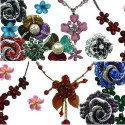 Flower Costume Jewellery
