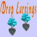 Medium Drop Earrings