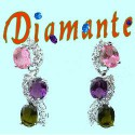 Crystal/Diamante/Rhinestone Earrings