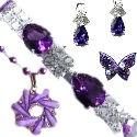 Purple Jewellery